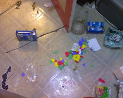 And the destruction continues