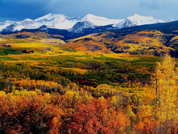 Crested Butte Mountains in all their autumn glory