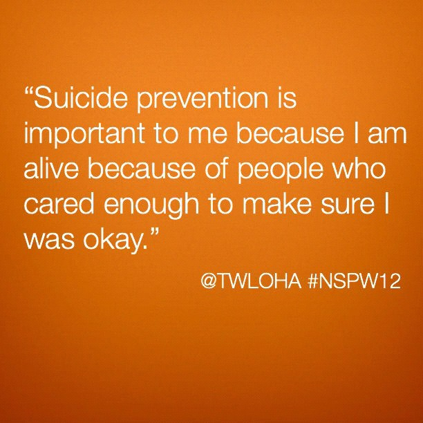 Inspirational Quotes For A Suicidal Friend: In Which I Thank A Friend For Saving My Life