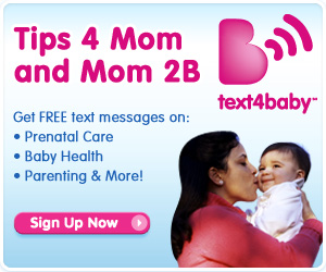 Click here to sign up for Text4Baby