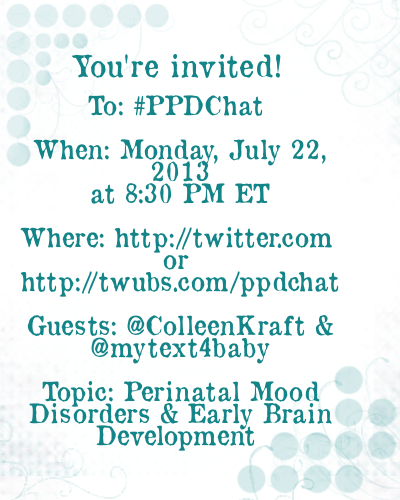 PPDChat MyText4Baby Guest Announcement